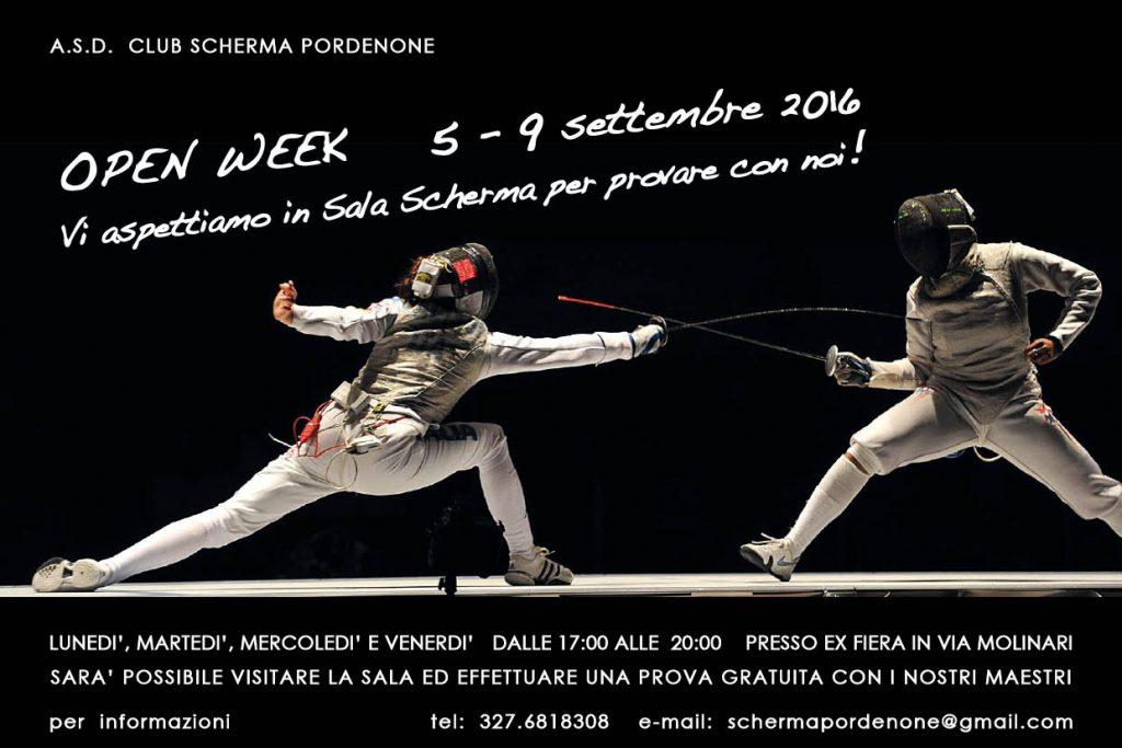 Volantino Open Week