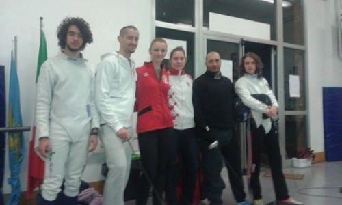 Visita a Pordenone del CT della Nazionale Croata con alcune sue allieve