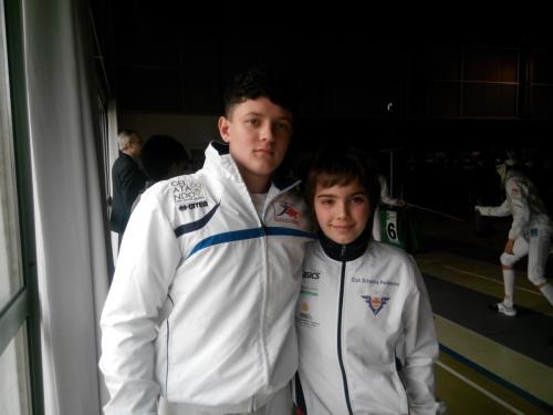 Dalmine Trofeo di Primavera – Marco con l'amico Filippo