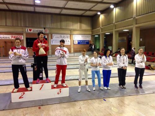 Vicenza – Maratona Berica – Eleonora durante la premiazione