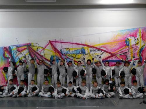 I nostri fiorettisti ospiti presso il Club Scherma di Udine