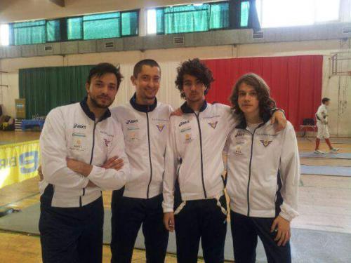 La Spezia  La squadra di Spada: Lorenzo, Fulvio, Leonardo e David, neopromossi in serie C1