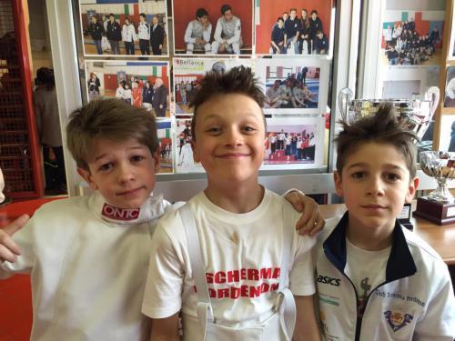 San Quirino Trofeo Flos Duellatorum – Giacomo Tommaso e Gregorio