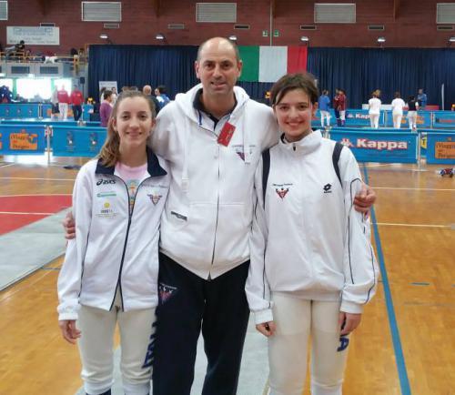 Nazionale Giovani a Salsomaggiore – Elisa ed Ilaria