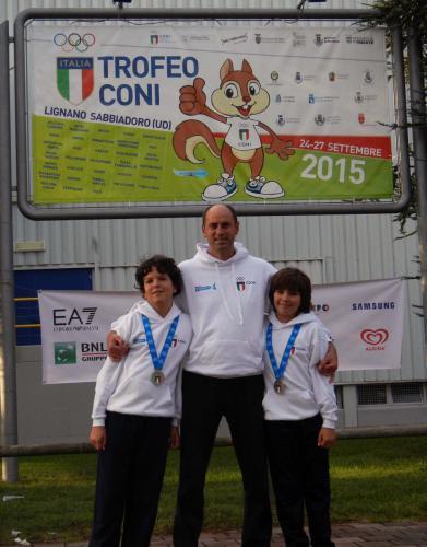 Trofeo CONI a Lignano