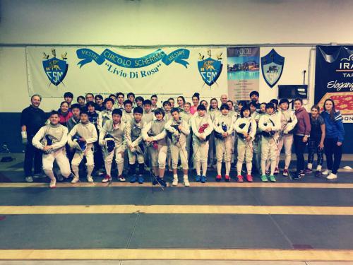 Nazionale Giapponese a Mestre - Il CSP c'era!