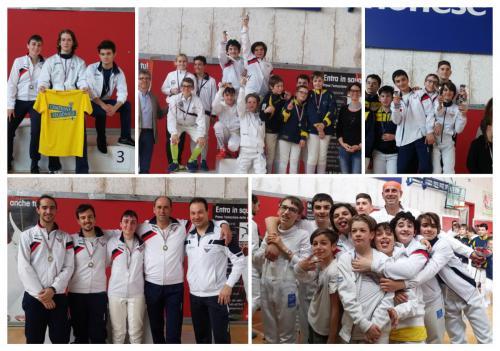San Quirino – Campionato regionale categorie Cadetti, Giovani e Seniores – Trofeo a Squadre di spada