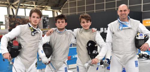 Adria Campionati Italiani a squadre B1 B2 alle 6 armi, C di FM FF e C1 di SPM SPF - Foto: TRIFILETTI / BIZZI