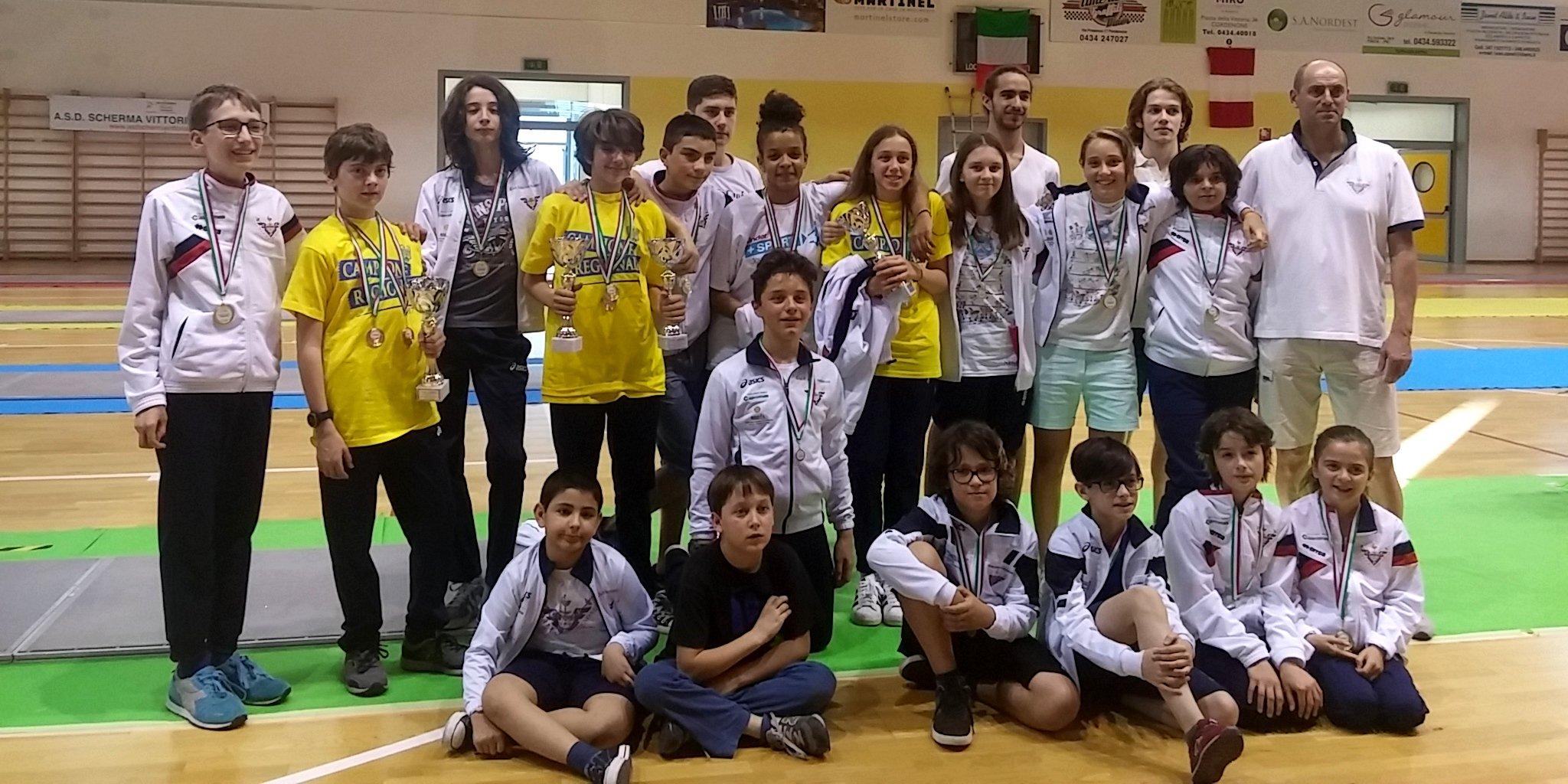 Campionato Regionale Scherma Pordenone