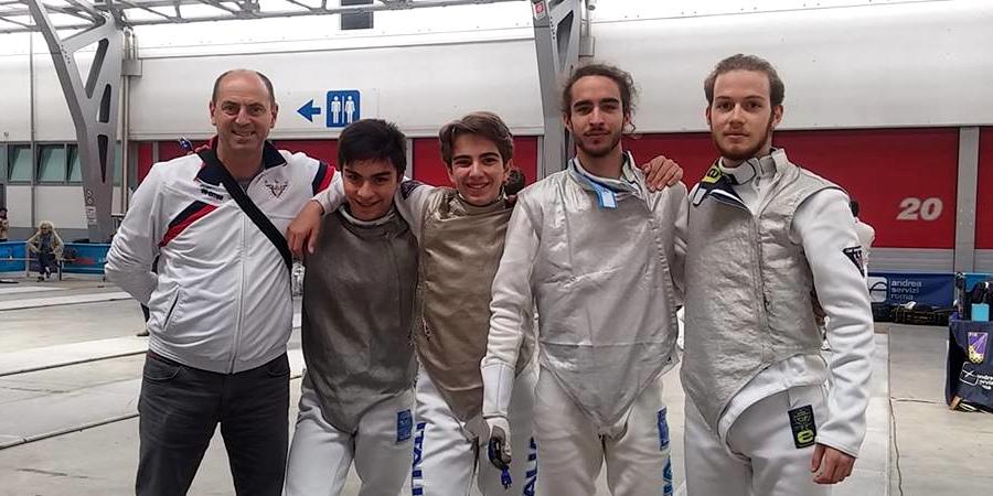 Fioretto B2 Squadra Club Scherma Pordenone