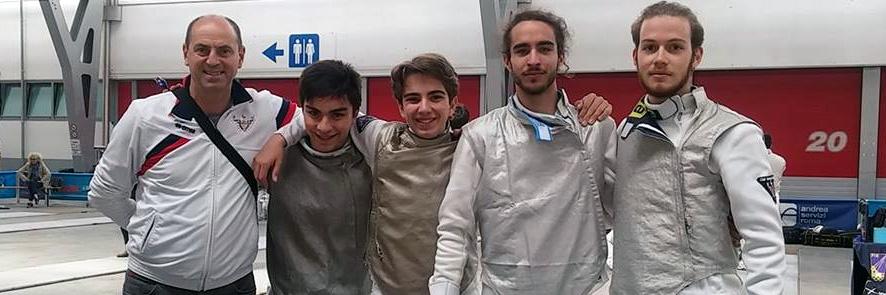 CSP Fioretto B2 Squadra Scherma Pordenone