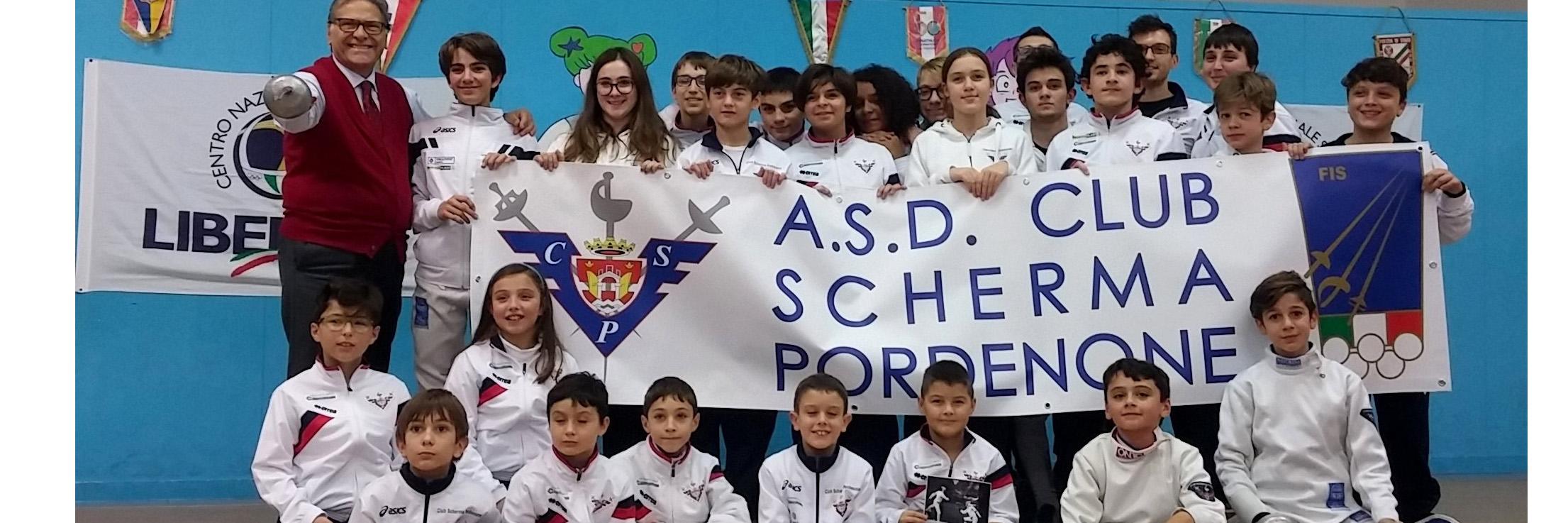CSP Michele Maffei Visita Scherma Pordenone