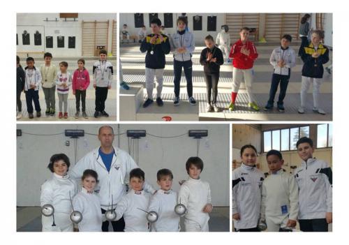 """Cividale 3^ tappa Trofeo di Spada """"M. Luigi Barbasetti"""" Bambine/Maschietti Giovanissimi"""