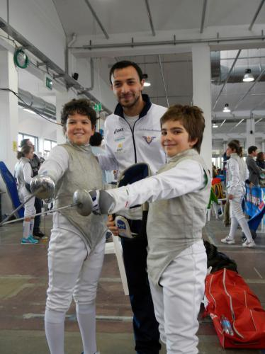 GPG Nazionale Giovanissimi, con Tommaso e Marco c'era anche Chiara!
