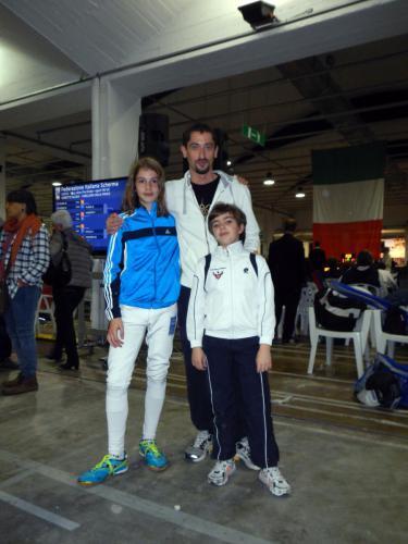 GPG Nazionale, con il maestro Fulvio gli atleti David e Marco