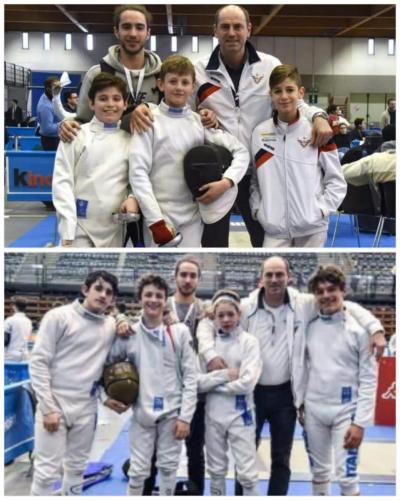 """Bolzano - Campionati italani a squadre di spada GPG Grand Prix """"Kinder +Sport"""""""