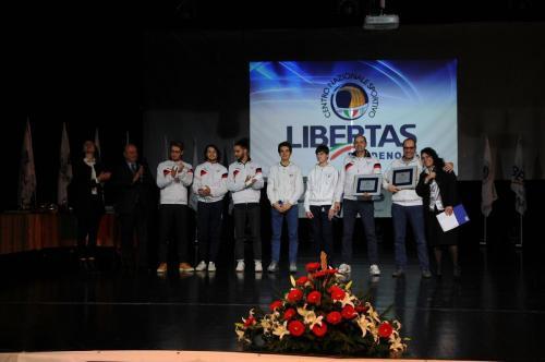 Cerimonia di Premiazione Libertas Pordenone 2019