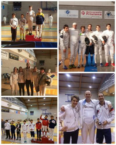 Gemona Trofeo Junior Libertas e Qualificazione Regionale Spada