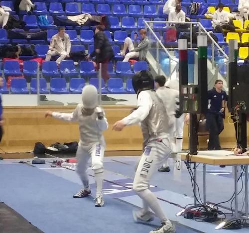 Modling - Circuito europeo cadetti fioretto
